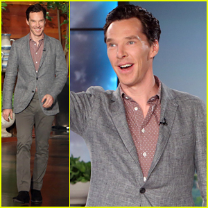 Benedict Cumberbatch Visits 'Ellen' For the First Time & Talks Fans Calling Themselves 'Cumberbitches'