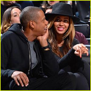 Beyonce & Jay Z Watch Nets' Kevin Garnett Headbutt Dwight Howard During Basketball Game