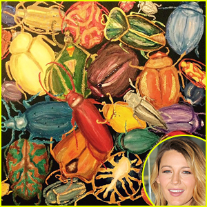 Blake Lively Is Back to Work After Giving Birth: Selling Paintings!