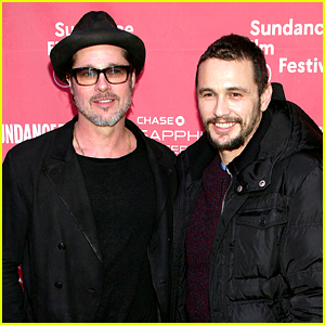 Brad Pitt Makes a Surprise Appearance at Sundance!
