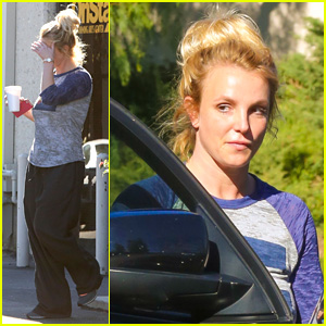 Britney Spears Hits Dance Studio During Two Week Twitter Break