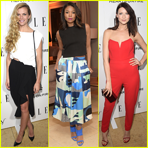 Brooklyn Decker & Gabrielle Union Get Glam for Elle's Women in Television Event!