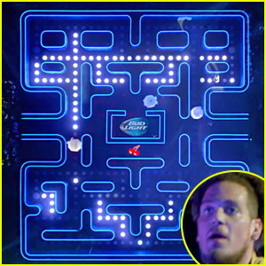 Bud light super bowl commercial 2015 real life pac man 2015 bud light super bowl commercial 2015 real life pac man mozeypictures Gallery