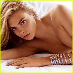 Cara Delevingne Goes Topless For John Hardy Jewelry Campaign