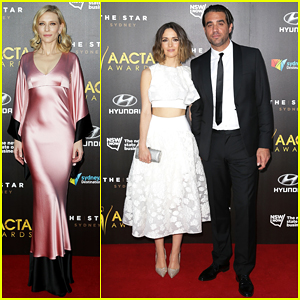 Cate Blanchett, Rose Byrne & Boyfriend Bobby Cannavale Hit the Red Carpet at AACTA Awards 2015!