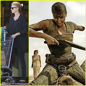 Charlize Theron Fights Using Only One Arm in 'Mad Max: Fury Road' Still!