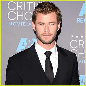 Chris Hemsworth Brings the Handsome to Critics' Choice 2015