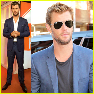 Chris Hemsworth Says He's Spending His Time 'Trying to Be Sexy'