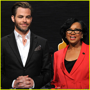 Chris Pine & Academy President Cheryl Boone Isaacs Announce the Oscar Nominations (Photos)