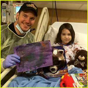 Chris Pratt Celebrates a Child Fan Who Just Beat Leukemia