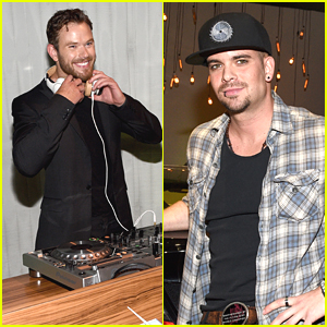 Kellan Lutz Plays DJ at West Coast Chevy Volt Reveal!