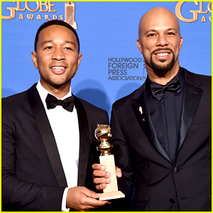 Common Gives Emotional Golden Globes 2015 Speech (Video)