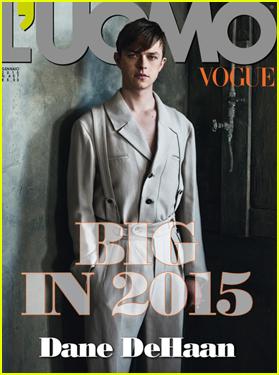 Dane DeHaan Wears Vintage Fashion on 'L'Uomo Vogue' Cover