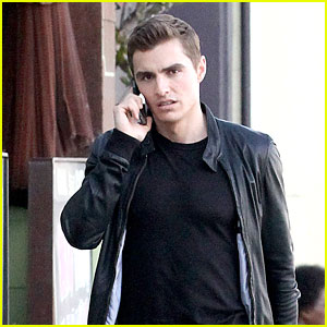 Dave Franco Takes Care of 'Unfinished Business' After Lunch