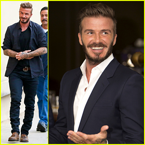 David Beckham Voices Opinion on Justin Bieber's Underwear Ad