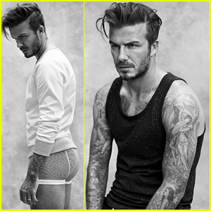 David Beckham Models His Boxer Briefs for New H&M Menswear Line