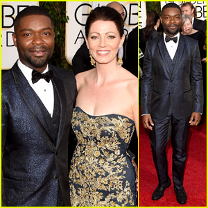 David Oyelowo Dons Sparkley Blue Suit for Golden Globes 2015