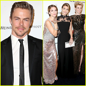 Derek Hough Attends the Same Golden Globes 2015 Party as Rumored Love Interest Kate Hudson
