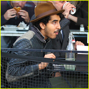 Dev Patel Steps Out for Lunch After Freida Pinto Breakup