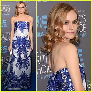 Diane Kruger Is Strapless Chic at the Critics Choice Awards 2015
