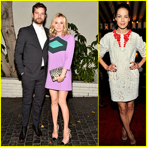 Diane Kruger & Joshua Jackson Are One Stylish Couple at Pre-Golden Globes Party 2015