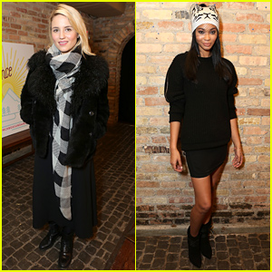 Dianna Agron Is Enjoying Her First Time at Sundance!