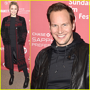 Dianna Agron & Patrick Wilson Have a 'Zipper' Situation at Sundance Film Festival 2015