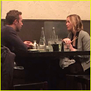 Did Jennifer Lawrence & Chris Martin Spend New Year's Eve Together?!