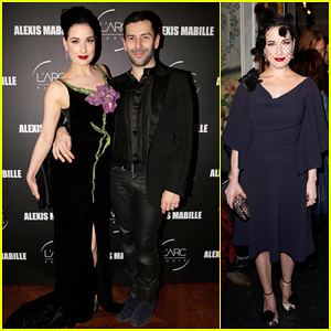 Dita Von Teese Helps Alexis Mabille Celebrate 10 Years of Haute Couture at Paris Fashion Week!