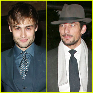 Douglas Booth & David Gandy Bring Dashing Good Looks to GQ London Collections Dinner