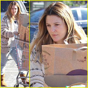 Drew Barrymore Spends Some Quality Time with Her Older Daughter