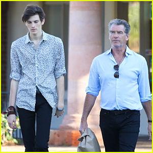 Pierce Brosnan's Model Son Dylan Stands Tall on 18th Birthday