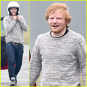 Ed Sheeran Has a Need for Speed in London!