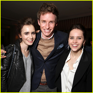 Eddie Redmayne Celebrates Globes Win with Tons of Celebs!