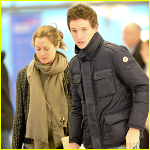 Newlyweds Eddie Redmayne & Hannah Bagashwe Start 2015 With London Departure
