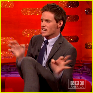 Eddie Redmayne Hilariously Reenacts Failed 'Hobbit' Audition