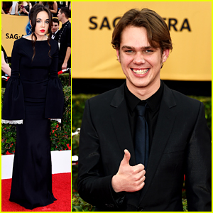 Boyhood's Ellar Coltrane & Lorelai Linklater Step Out for SAG Awards 2015!