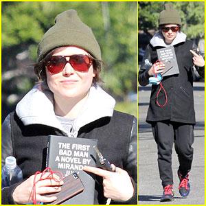Ellen Page Carries Around 'The First Bad Man'