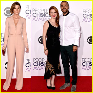 Ellen Pompeo & Jesse Williams Bring the Drama to People's Choice Awards 2015