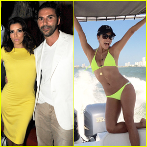 Eva Longoria Rocks Bikini & Celebrates the New Year in Cartagena with Boyfriend Jose Antonio Baston!