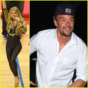 Fergie Gets Clippers Owner Steve Ballmer Dancing Wild to 'L.A.Love' - Watch Here!