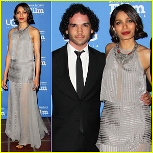 Freida Pinto Opens the Santa Barbara International Film Festival 2015 with 'Desert Dancer' Premiere!