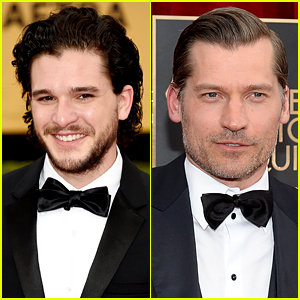 'Game of Thrones' Studs Suit Up on SAG Awards Red Carpet!
