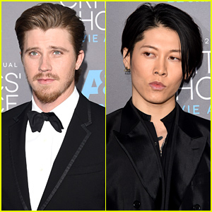 Garrett Hedlund Miyavi Support Angelina Jolie Unbroken At The