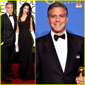 George Clooney Thanks Wife Amal During Golden Globes 2015 Acceptance Speech (Video)