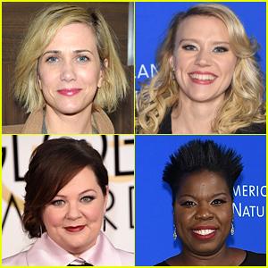 Female 'Ghostbusters' Cast Revealed: Melissa McCarthy, Kristen Wiig, Kate McKinnon, & Leslie Jones!