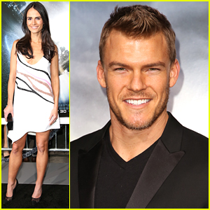 Jordana Brewster Supports Husband Andrew Form At 'Project Almanac' Premiere