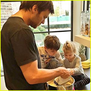 Gisele Bundchen Captures Tom Brady as the 'Pancake Master'