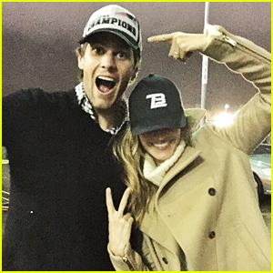 Tom Brady & Wife Gisele Bundchen Celebrate After the Patriots' AFC Championship Win!
