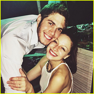 Glee's Melissa Benoist & Blake Jenner Were the Cutest New Year's Eve Couple!
